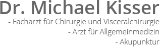 Dr. Michael Kisser